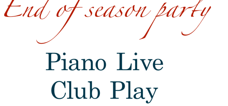 DJ Jubar в End of Season Party – Piano Live Club Play